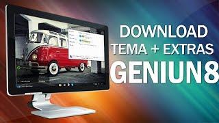 Tema Geniun 8 + Extras ( Windows 7 )
