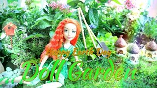DIY - How to Make:  Doll Garden - Earth Day 2016 - Handmade - Crafts