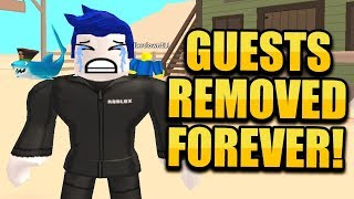 ROBLOX REMOVED GUESTS!! WILD REVOLVERS NEW UPDATE!!   JAILBREAK MONSTER TRUCK! 🔴 ROBLOX LIVE