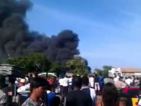 CHEMICAL COMPANY IN TEMA BURNED(GHANA FIRE SERVICE FAIL TO RESCUE)