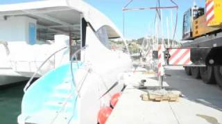 Catamaran Launch Eco-Slim