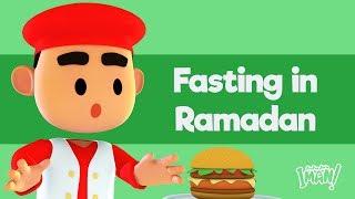 Ep 1 - dem Fasten Im Ramazan - Assalamu'alaikum Iman - islamische Karikatur Für Kinder