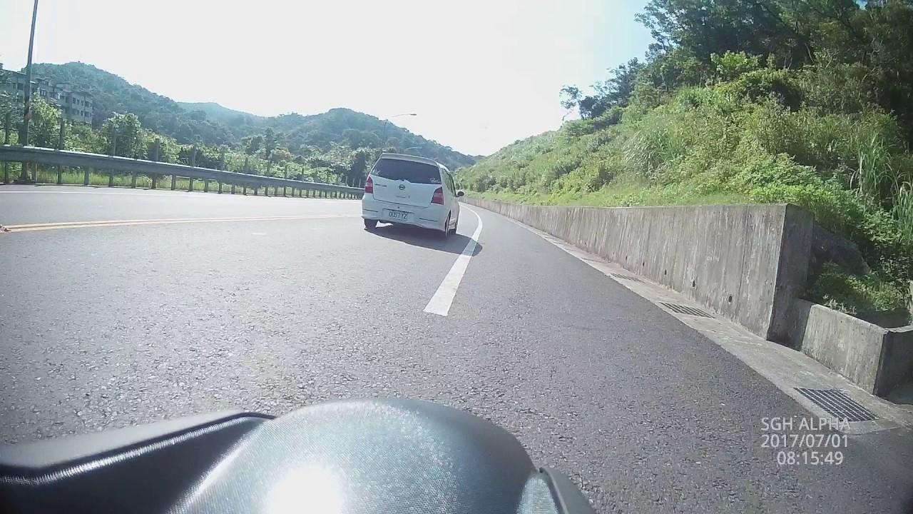 106.07.01 臺2丙21.5K處 嚴重車禍 - YouTube
