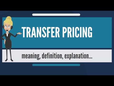 What is TRANSFER PRICING? What does TRANSFER PRICING mean? TRANSFER PRICING meaning & explanation
