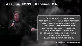 April 4th, 2007 — Redding, CA — Media, Trump, Gatekeeper, New York, Praying President