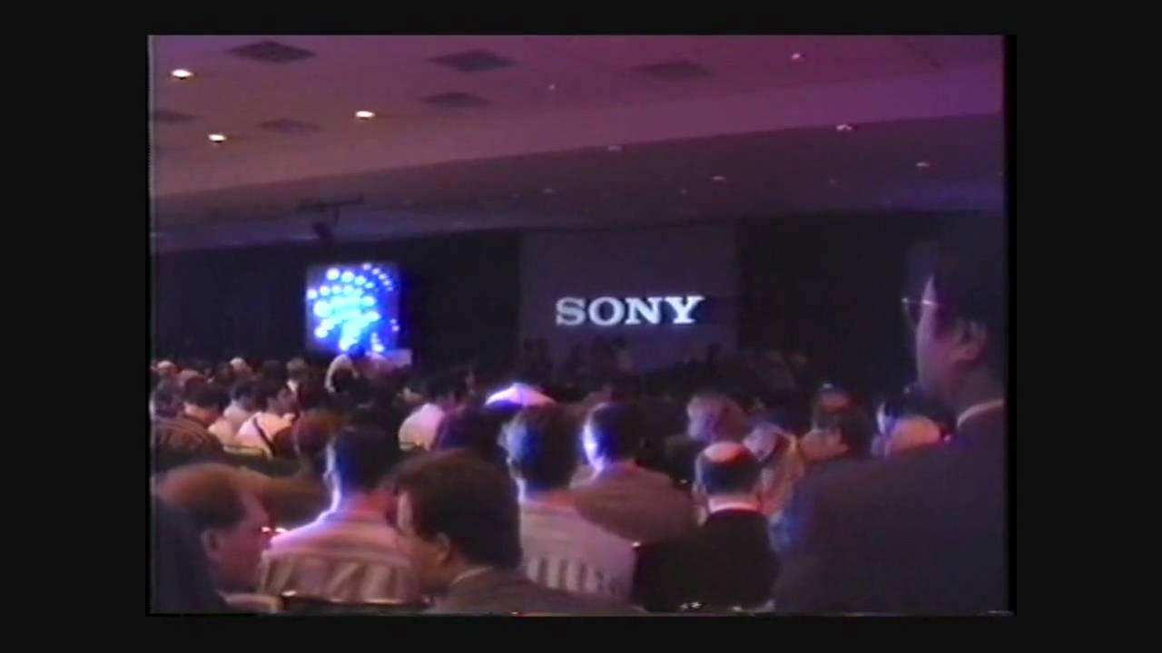 Sony PlayStation - E3 1995 Keynote Speech - Los Angeles, CA - Part 1 of 3 -  YouTube