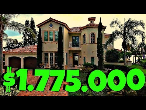(1282) Америка. МИЛЛИОННЫЙ ЧУДО - ДОМ У ЗАЛИВА В ORMOND BEACH!!! Natalya Falcone