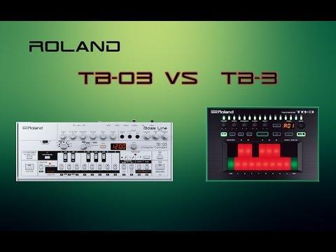 Roland TB-03 vs. TB-3   Acid Machine Comparison