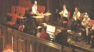 """Toccata from """"Suite for Organ, Brass, & Percussion by Craig Phillips"""