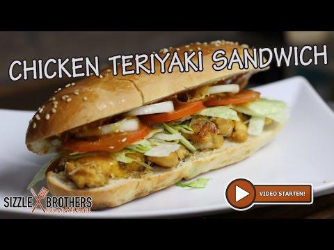 Chicken Teriyaki Sandwich Fastfood Vom Grill Youtube