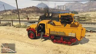 GTA 5 Online - Náo Loạn Thế Giới Với Siêu Xe Quân Đội Mới !!!