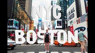 NYC to BOSTON on $6? | USA VLOG DAY 4 // MA