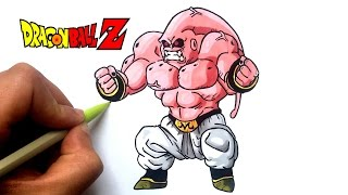 DESSIN BUFF BUU !! DRAGON BALL Z