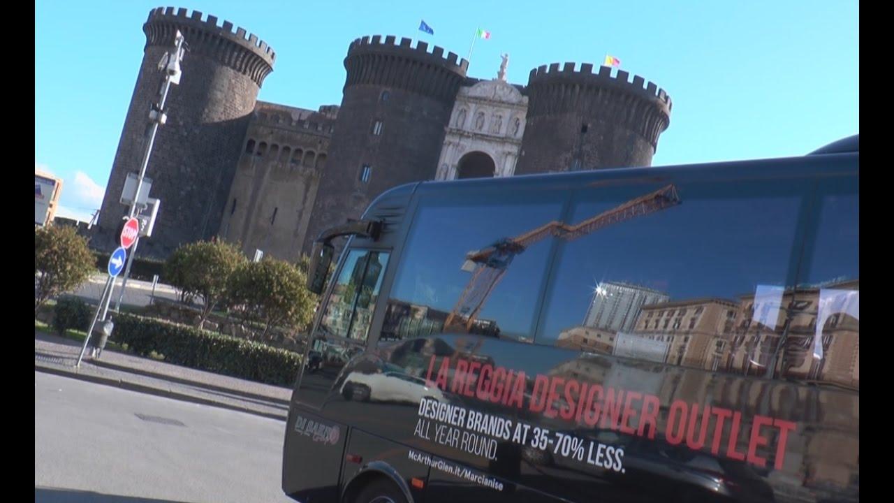 Caserta - Una navetta da Napoli per Reggia e Outlet Marcianise ...