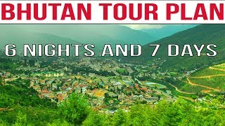 Short Film Showing Bhutan Tour Plan From India | 6 Nights 7 Days Bhutan Tour Package | Top Places to Visit in Bhutan