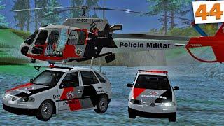 GTA Multiplayer - Polícia Militar em Perseguição