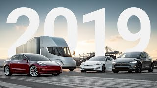 New Tesla's Coming in 2019: Model Y, S&X Refresh & More!