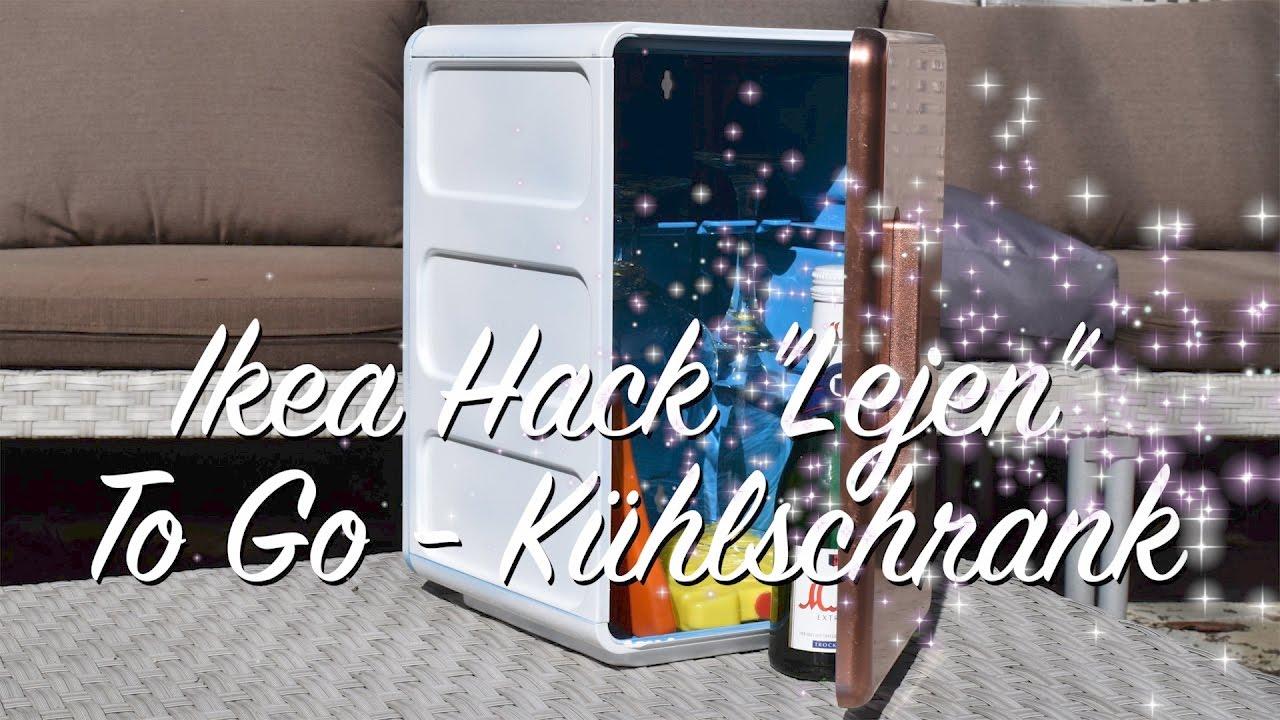 Mini Kühlschrank Für Garten : Ikea lejen hack kühlschrank to go gadget picknick garten