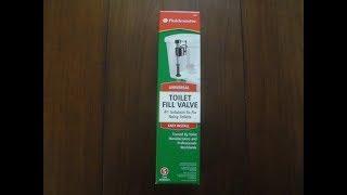 Replacing a Toilet Fill Valve