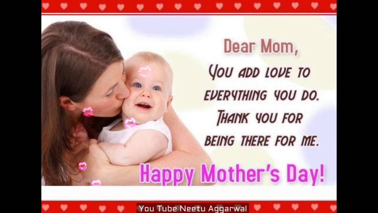 Happy Mother s Day Mom Wishes Greetings Quotes E Card Wallpapers I Love You Mom Whatsapp Video