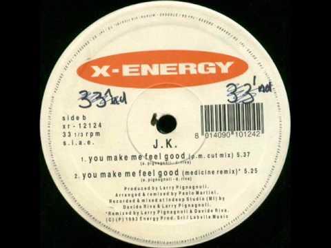 JK - You Make Me Feel Good (Medicine Remix) 1993