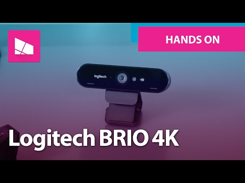 Logitech BRIO 4K with HDR and Windows Hello unboxing and hands on
