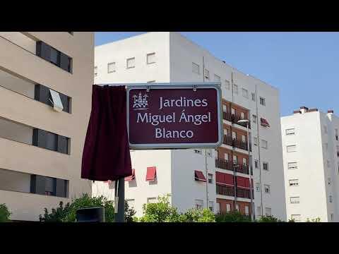 Miguel Ángel Blanco ya tiene unos jardines en su memoria en Córdoba