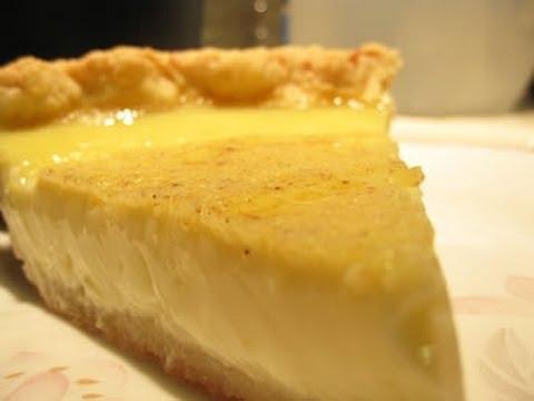 How to make custard pie with powder