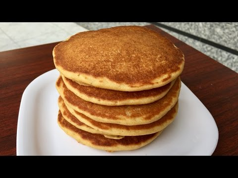 Whole Wheat Pancakes | Kitchen Time With Neha