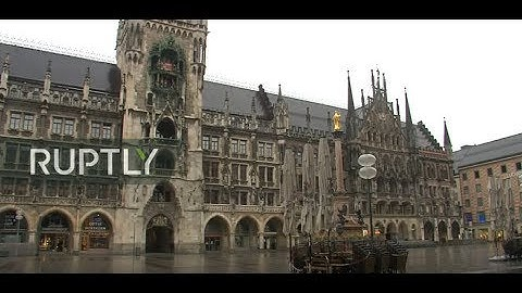 LIVE from Munich's Marienplatz as Bavaria goes under lockdown over coronavirus