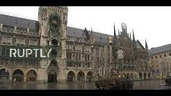 LIVE from Munich's Marienplatz as Bavaria goes under lockdown over coronavirus