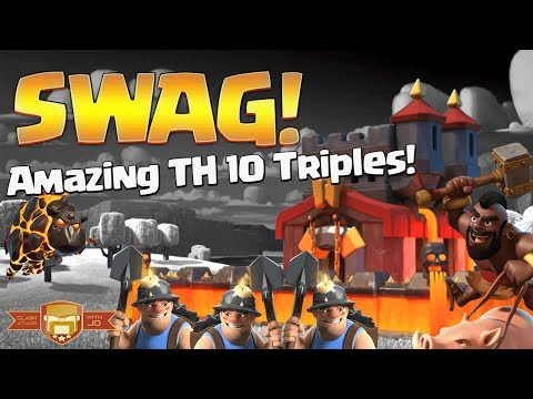 Wow! Best TH 10 Attack Strategies for 3 Stars 2017 | Clash of Clans