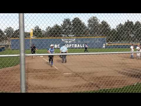 Rayne's 2-run HR at Colombia Basin College