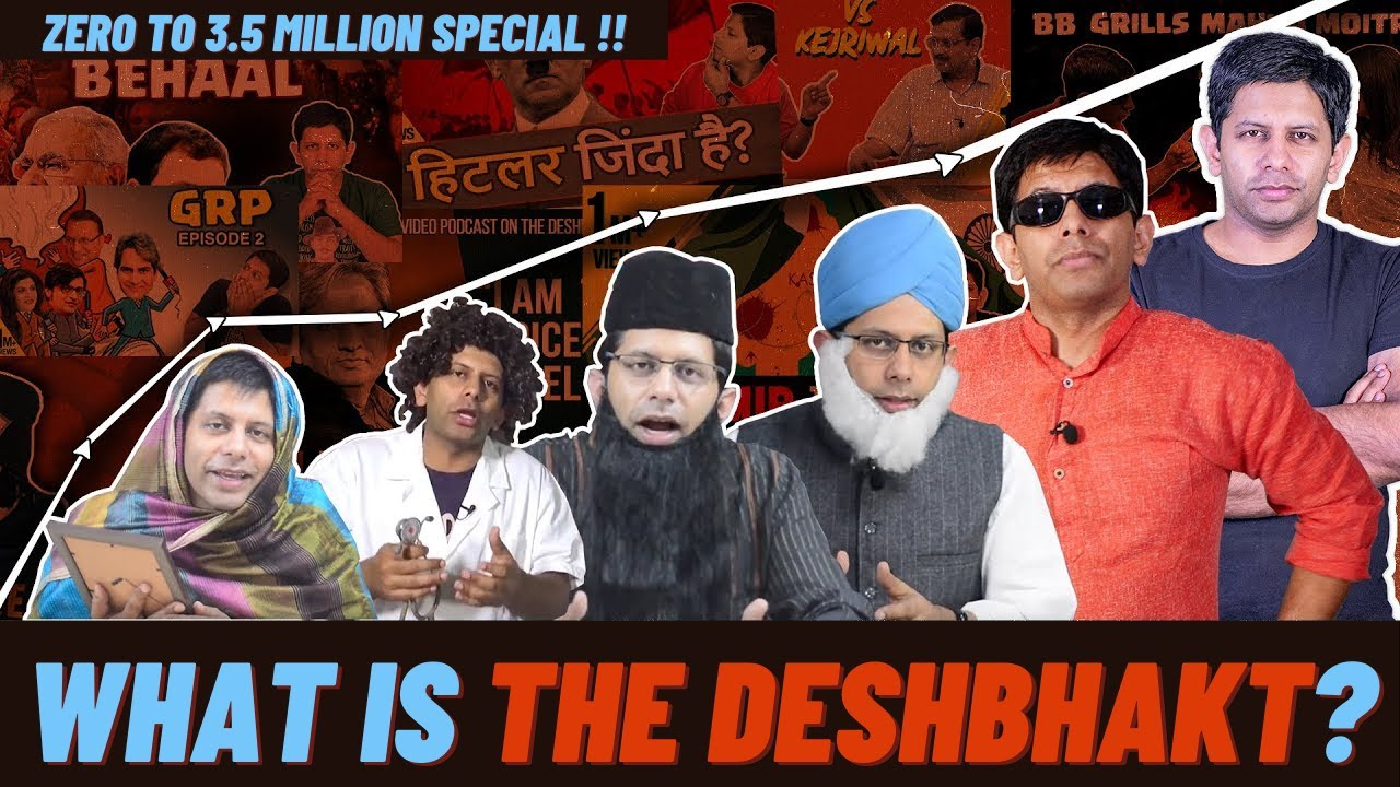 Family of 3.5 Million! The journey of #TheDeshBhakt, who we are & what we stand for | Akash Banerjee