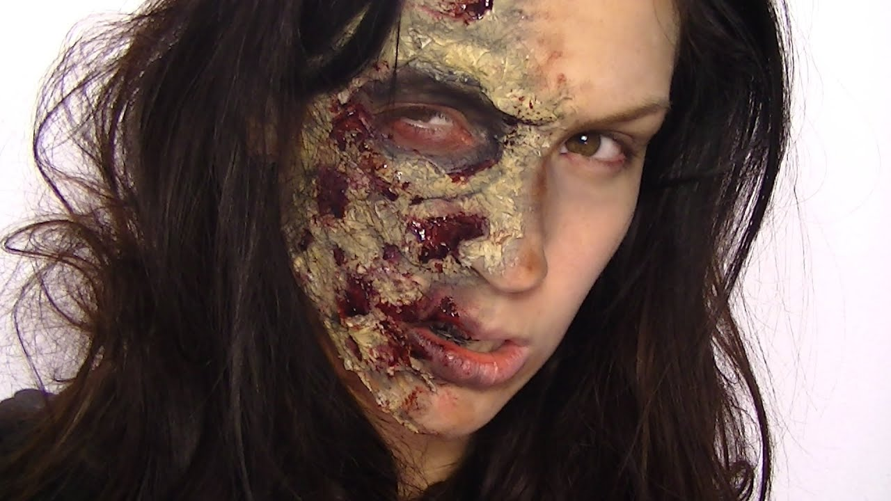 Maquillage d 39 halloween zombie youtube - Maquillage pirate homme ...