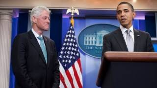 Press Briefing with President Obama and President Clinton thumbnail