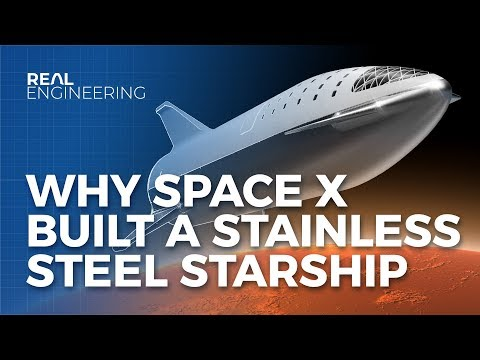 Why SpaceX Built A Stainless Steel Starship