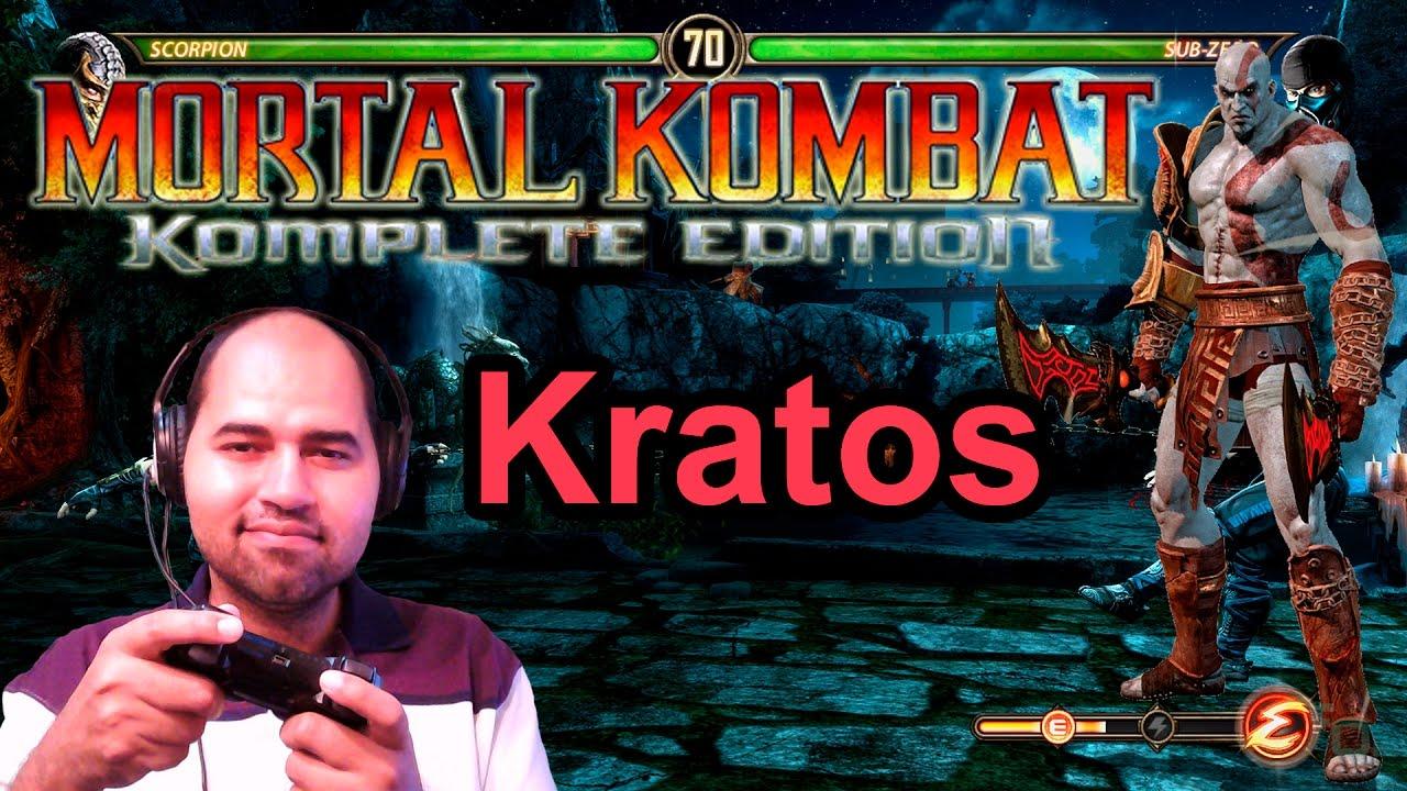Mortal kombat komplete edition kratos