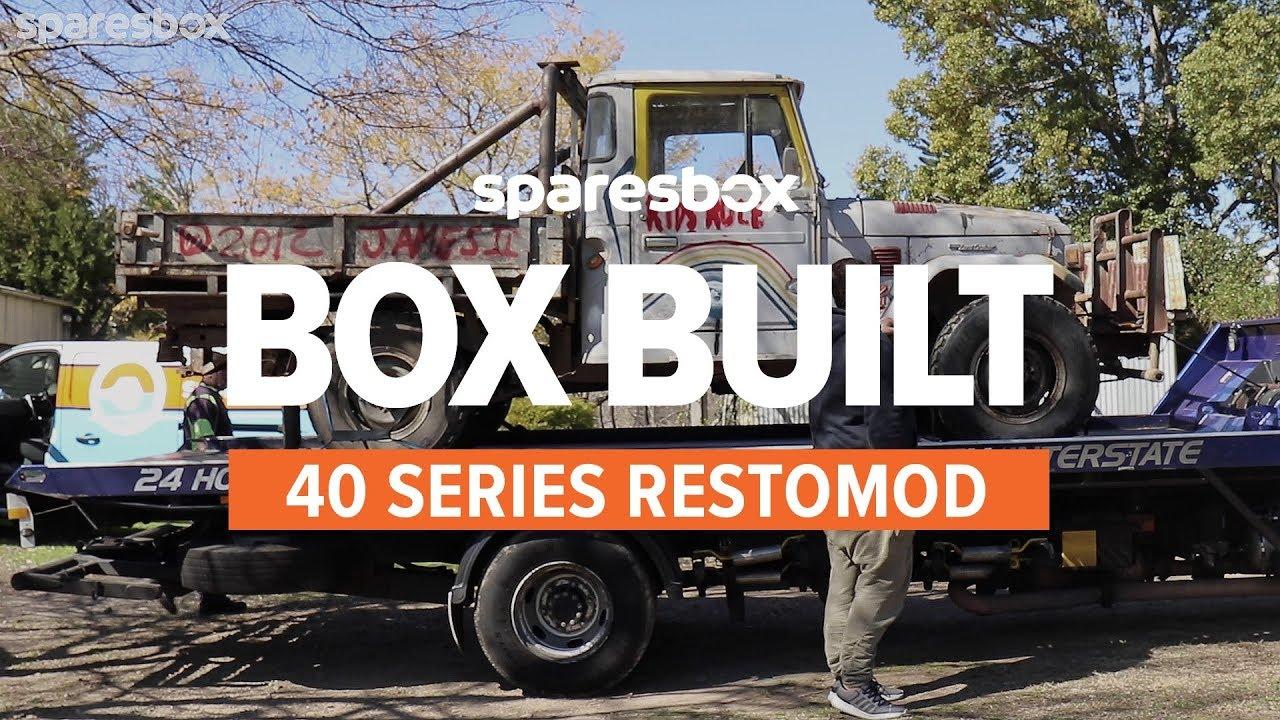 Sparesbox | S1 Ep1 | Box Built | 40 Series Restomod