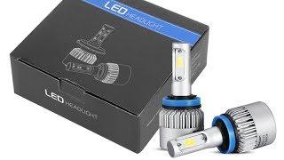 ✔✔✔ АХЕРЕ..НЫЕ LED ЛАМПЫ!!! СВЕТ ПТФ (Замена ламп на H11 OSLAMP LIGHT 35W 6000K 8000LM) ✔✔✔