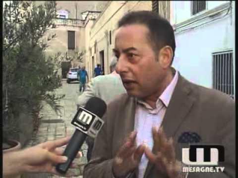 Da Mesagne, l'Europa secondo Pittella