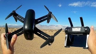 Wingsland M5 GPS Drone Distance Test and POI Circle Me Flight Test Review