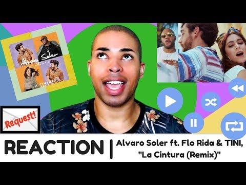 "Alvaro Soler ft. Flo Rida & TINI, ""La Cintura (Remix)"" | REACTION"