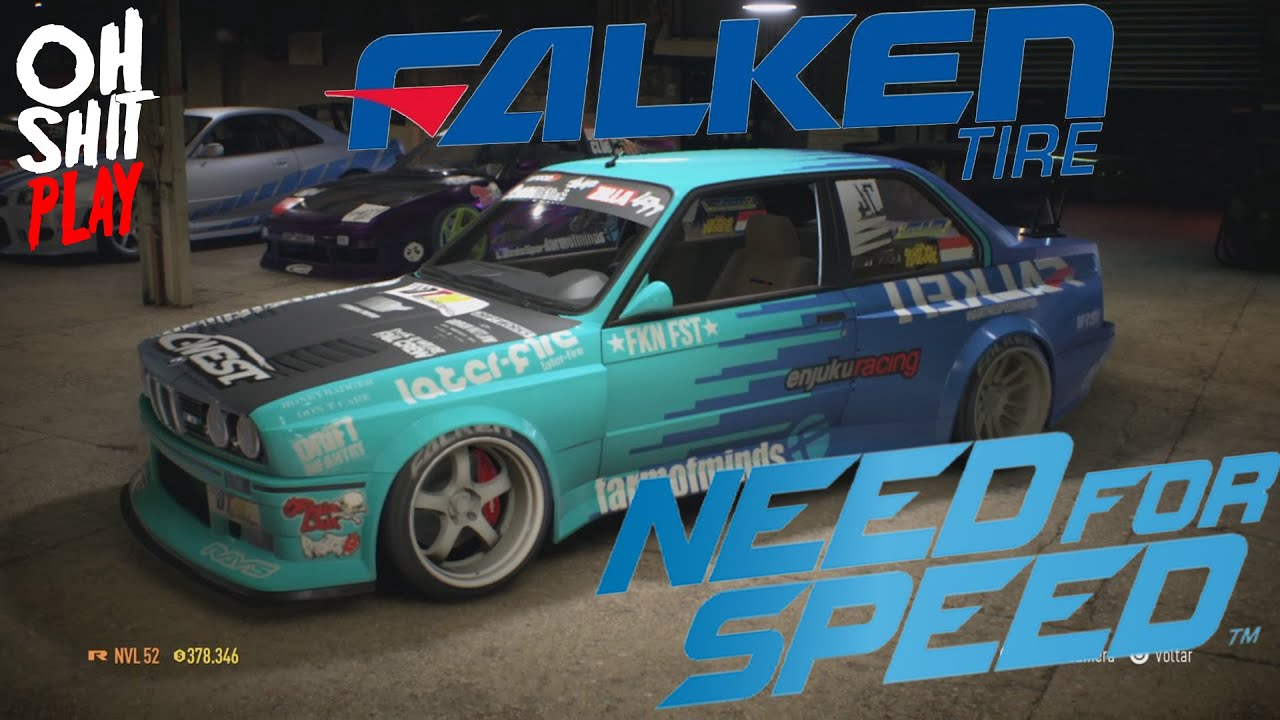 bmw e30 falken tires drift need for speed 2015 ps4. Black Bedroom Furniture Sets. Home Design Ideas