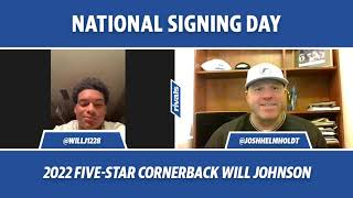 NSD Live: 2022 Five-Star cornerback Will Johnson