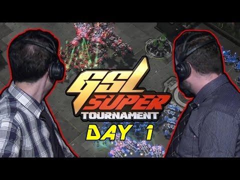 Tasteless And Artosis - StarCraft II - GSL 2019 Super Tournament II Day 1 - Highlights And Banter