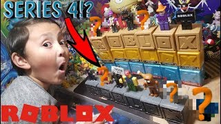 THE GREATEST ROBLOX VIDEO EVER! OPENING EVERY SINGLE MYSTERY CUBE BLOCK SERIES & NEW SERIES 4?! Pt 1