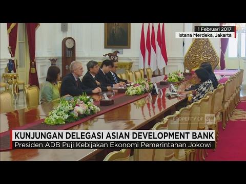 Kunjungan Delegasi Asian Development Bank ke RI