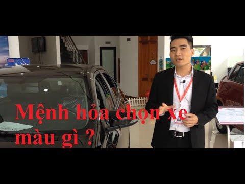 người mệnh hỏa chọn xe màu gì   Toyota Thái Nguyên