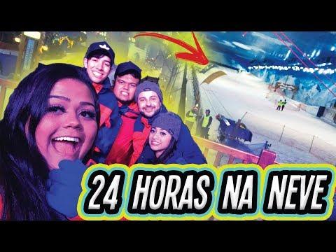 24 HORAS NA NEVE !!!